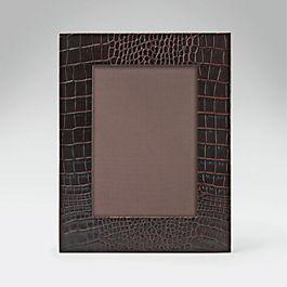 Leather Medium Photo Frame