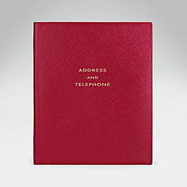 Leather Premier 'Address and Telephone' Book