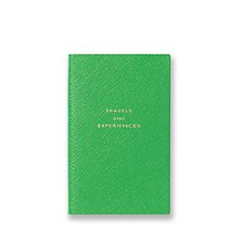 Leather 'Travels and Experiences' Panama Notebook