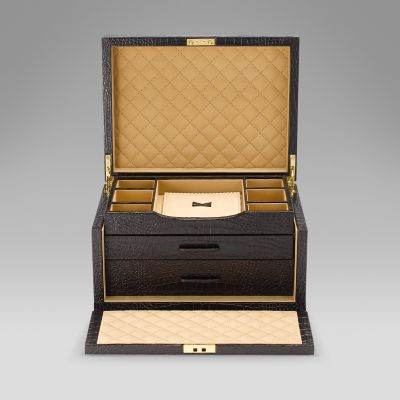 Mara Three Drawer Jewellery Box
