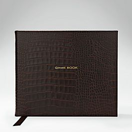 Leather Game Book