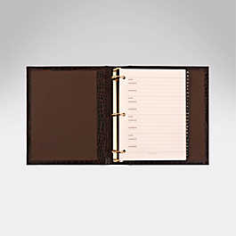 Leather Loose Leaf Address Book