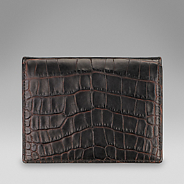 Leather Bridge Card Case