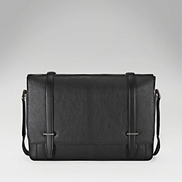 Leather Large Messenger Bag