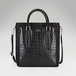 Crocodile Medium Tote