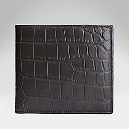 Crocodile Large Wallet