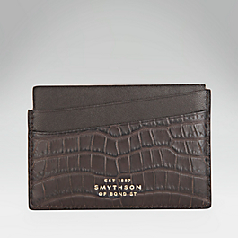 Crocodile Slim Card Holder