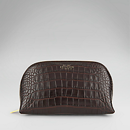 Leather Cosmetics Case