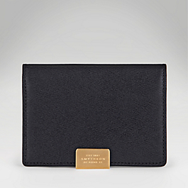 Leather Card Case with Slide