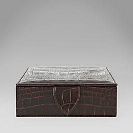 Leather Ladies' Travel Tray Box