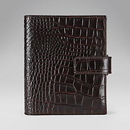 Leather Bijou Organiser