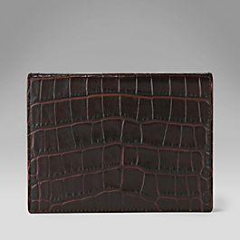 Leather Bridge Card Case