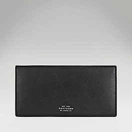 Leather Slim Coat Wallet