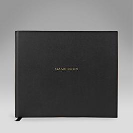 Leather Hardbound 'Game Book'
