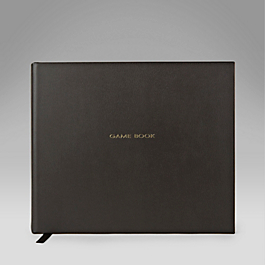 Leather Hardbound 'Game Book'