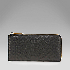 Python Large Slim Purse