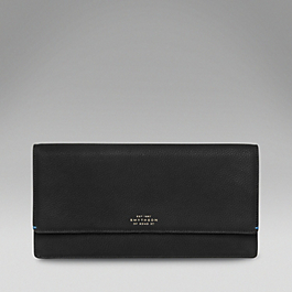 Leather Classic Clutch