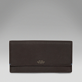 Leather Classic Clutch