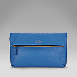 Leather Crossbody Clutch