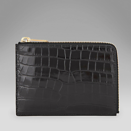 Alligator Small Pouch
