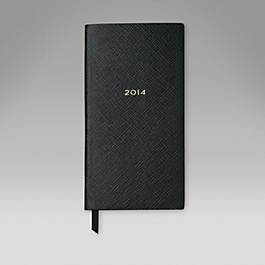 Leather 2014 Memoranda Diary