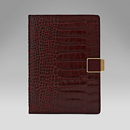 Leather Passport Cover with Slide