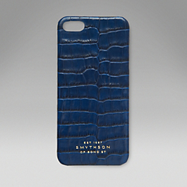 Leather iPhone 5 Hard Cover