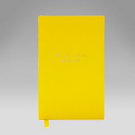 Leather Follow Your Dreams' Panama Notebook