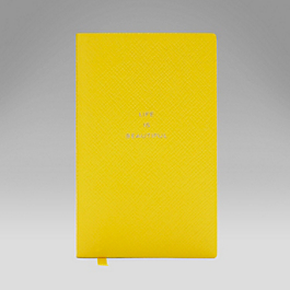 Leather 'Life is Beautiful' Panama Notebook