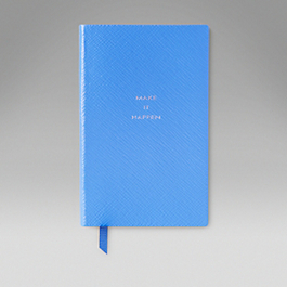 Leather 'Make it Happen' Panama Notebook
