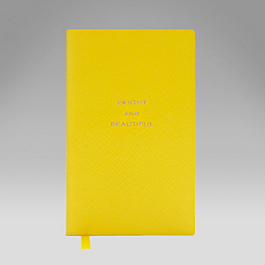 Leather Bright and Beautiful' Panama Notebook