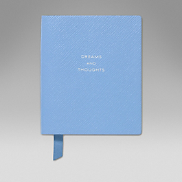 Leather 'Dreams and Thoughts' Premier Notebook