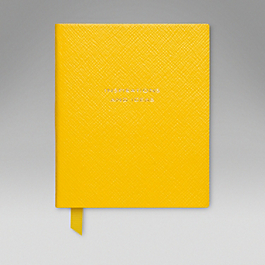 Leather 'Inspirations and Ideas' Premier Notebook