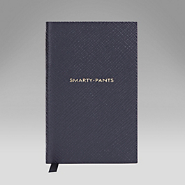 Leather Smarty Pants' Wafer Notebook
