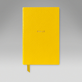 Leather Smile' Wafer Notebook