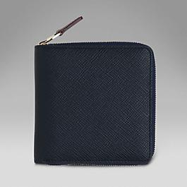 Leather Medium Zip Wallet