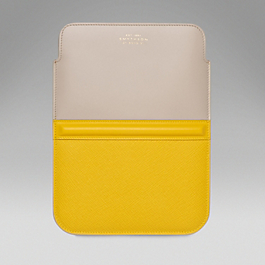 Leather iPad mini Sleeve