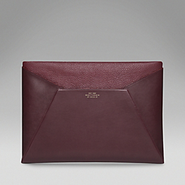Leather Envelope iPad Clutch