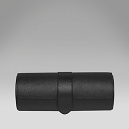 Leather Travel Watch Roll