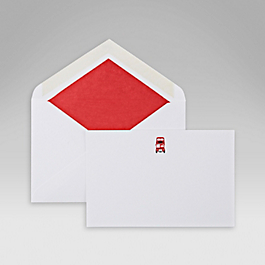 London Bus Correspondence Card