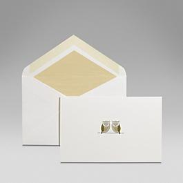 Owls Correspondence Card