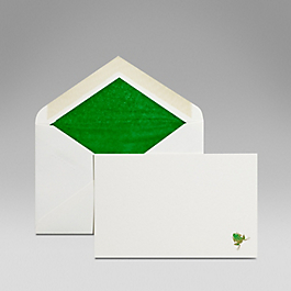 Frog Correspondence Card