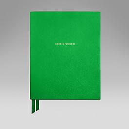 Leather 'Green Fingers' Book