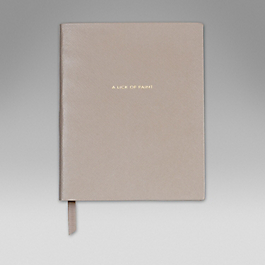 Leather 'A Lick of Paint' Book