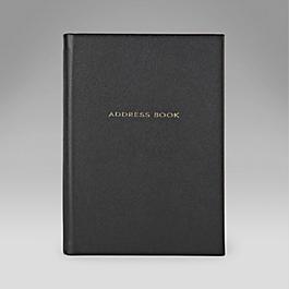 Leather Hardbound Address and Telephone Book