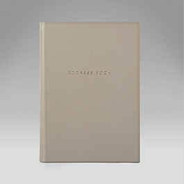 Leather Hardbound Address and Telephone Book