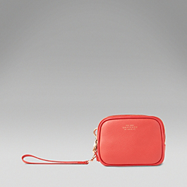 Leather Box Clutch