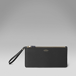 Leather Double Clutch