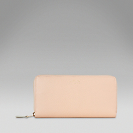 Leather Large Slim Purse