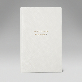 Leather Wedding Planner' Panama Notebook